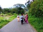 Pengiring Marapulai di jalan Panurunan